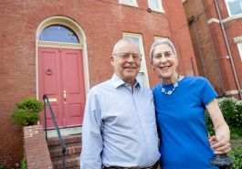 Mike Halbig and Jan Thorman have been preserving their home at 32 Maryland Ave since they bought it in July 1979. In the last 40 years they have made significant restorations to the house including re