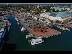 Annapolis has been looking for firms interested in redeveloping City Dock infrastructure and related site improvements. (Jerry Jackson/Baltimore Sun)